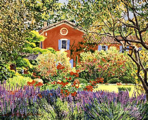French Country House Plans french countryside house painting by david lloyd glover