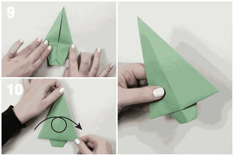 Origami Fir Tree - traditional origami fir tree tutorial