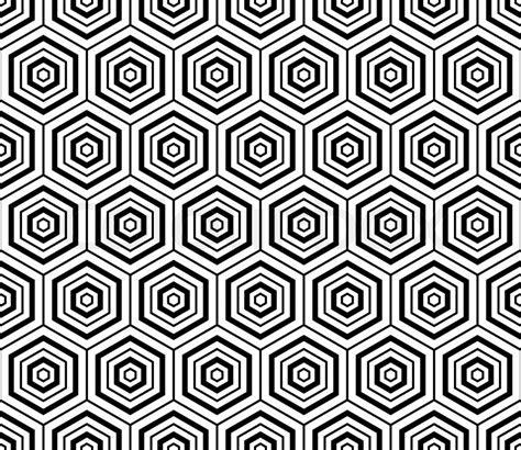 seamless hexagon pattern vector hexagons texture seamless geometric pattern vector art