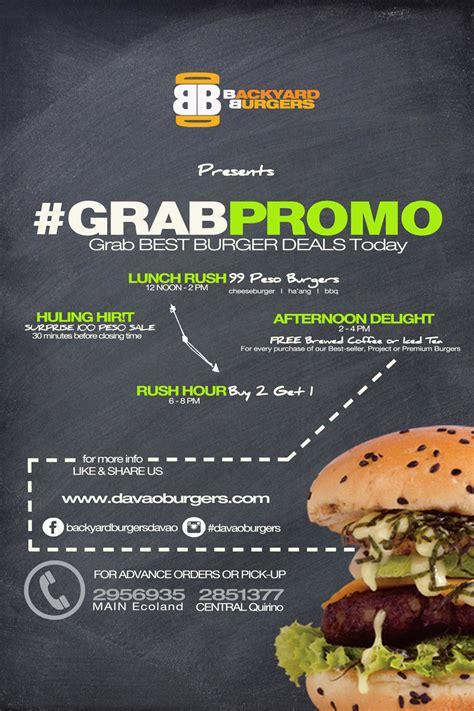 Backyard Promotions by Backyard Burger Davao Promo 28 Images Backyard Burgers