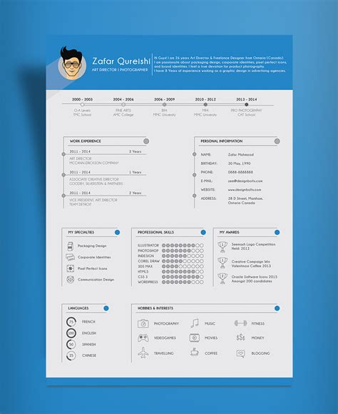 What Is A Resume Cv File by Free Simple Resume Cv Template Design For Director