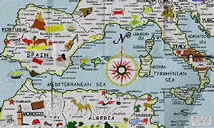 europe natural resources map  travel information