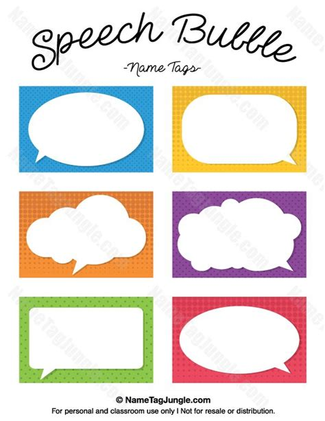 make a template for 2 x 3 1 2 cards free printable speech name tags the template can