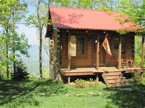 Cabins Near Chattanooga by Log Cabin In The Clouds Vacation Rental In Tennessee