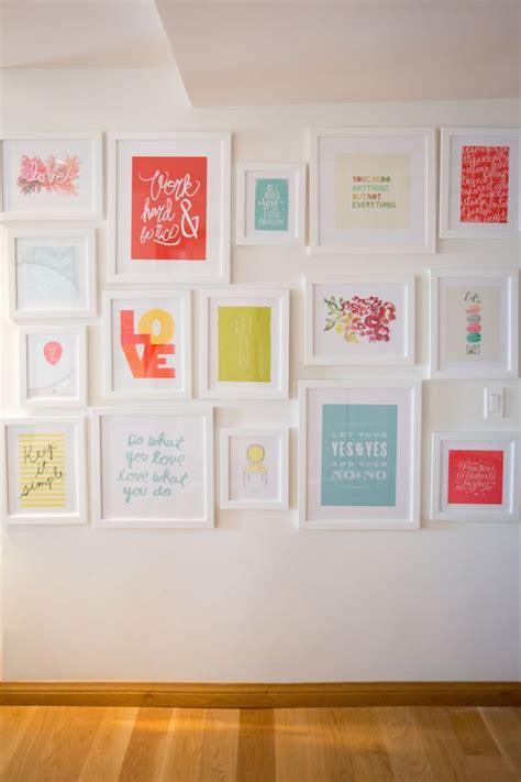 decoracion con laminas decorar con l 225 minas de frases pinterest wall ideas