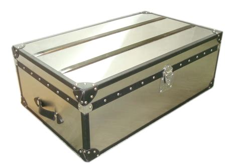 Topproductbymainid Stainless Steel Trunk Coffee Table