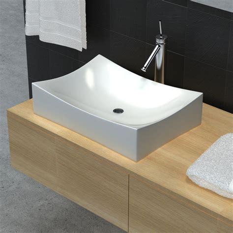 Porcelain Sink Vidaxl Co Uk Bathroom Ceramic Porcelain Sink Basin