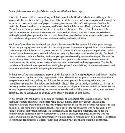 scholarship recommendation letter from friend gallery letter
