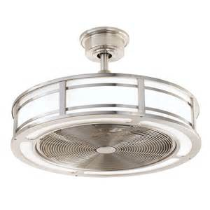 cage enclosed ceiling fans home decorators collection brette 23 in led indoor