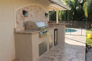 outdoor kitchen backsplash custom outdoor kitchen with granite counter and marble