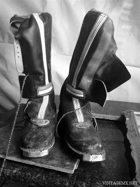 vintage motocross boots for sale vintage black leather motocross boots