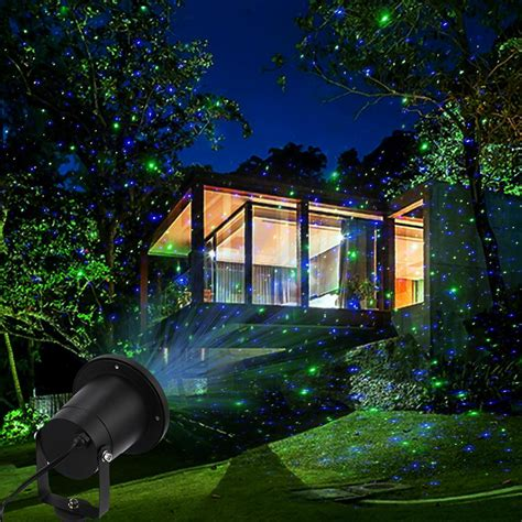 outdoor laser light projector blue ship to usa only magicfly christmas laser projection