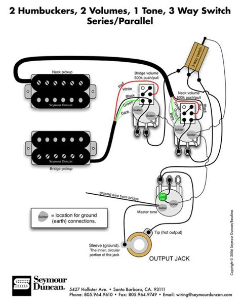 esp wiring diagrams 1 volume 1 tone