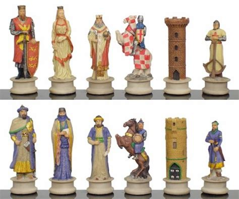 buy chess set buy cheap large crusades iii theme chess set toys