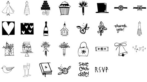 wedding doodle font free 1000 images about dingbats on fonts free