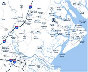 South carolina with convenient access to interstate 95 and sc highway