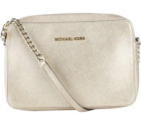 Mk Sling Bag Kg6017 michael kors gold jet set travel metallic saffiano sling bag