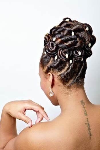 images  african american wedding hair
