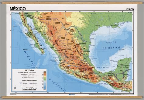 mexico geography gallery physical maps of mexico 28 images mexico map overview