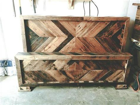 how to build a headboard and footboard pallet headboard and footboard pallet furniture diy