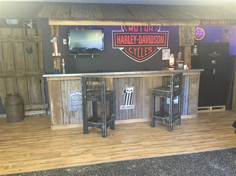 garage bar cave basement bars rustic bar harley davidson bar garage home bar ideas