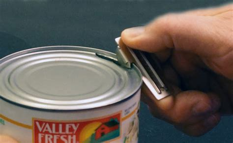 how to use a can opener p 38 or p 51 can opener is a simple essential for compact emergency kit