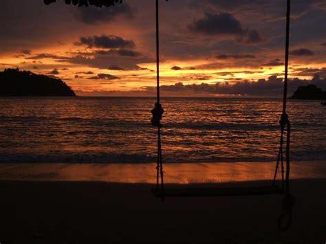 sunset swings sunset swing photo