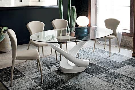 tavoli ovali in vetro target tavolo ovali fissi vetro tavoli a prezzi