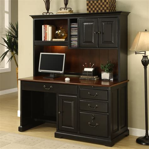 Home Computer Desks With Hutch by Furniture Computer Hutch And Small Corner Computer Desk