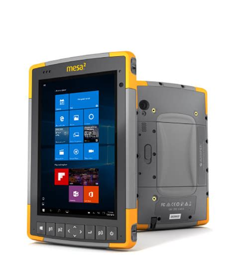 rugged 7 tablet mesa 2 rugged windows 10 7 tablet from juniper systems toughgadget