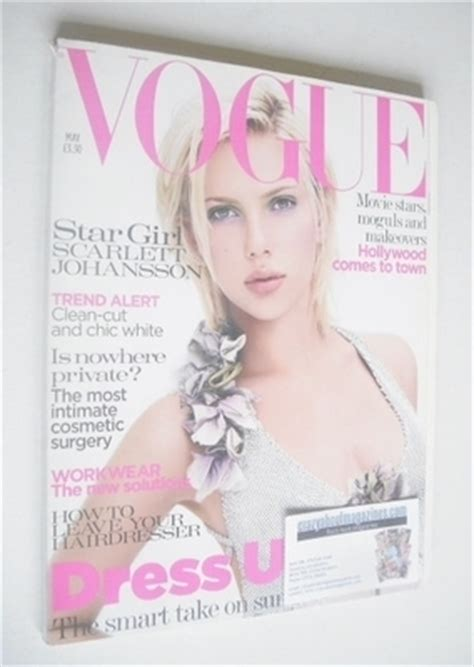 Johansson Pics From Vogue Magazine by Vogue Magazine May 2004 Johansson Cover