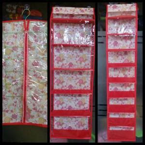 Rak Sepatu Gantungan jual paket organizer hanger jilbab gantungan tas rak