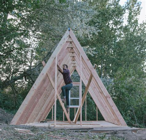 a frame cabin plans uo journal how to build an a frame cabin