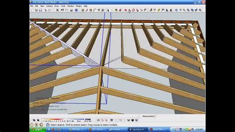 How To Measure A Hip Roof For Shingles Model And Measure Hip Rafters De Mystified By Modeling In