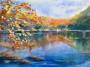 landscape painters landscape paintings contemporary in watercolor