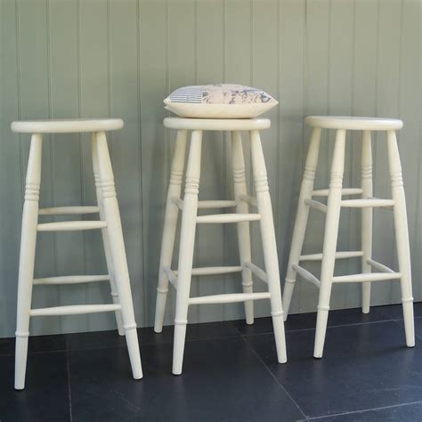custom height stools painted in any colour by rectory