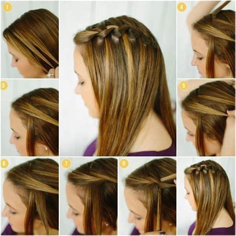 easy hairstyles step by step with pictures latest and beautiful step by step hairstyles for girls by
