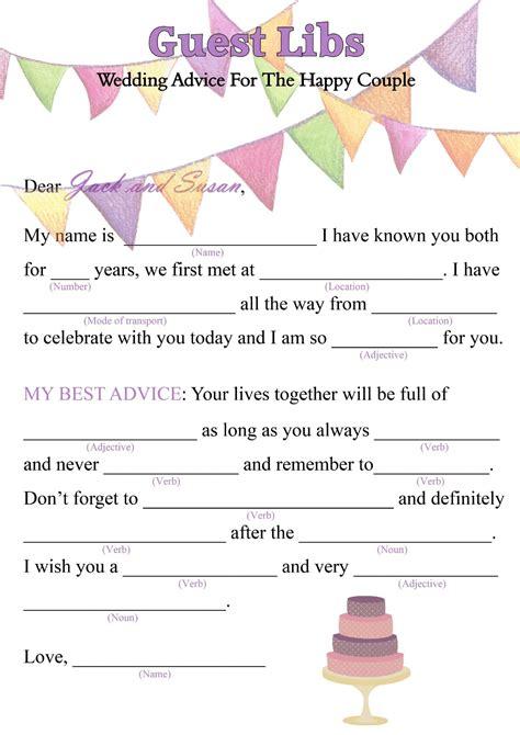 Wedding Mad Libs by Birthday Mad Libs Search 40th B Day