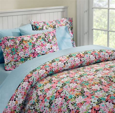 eclectic bedding meadow floral duvet cover and pillowcases eclectic