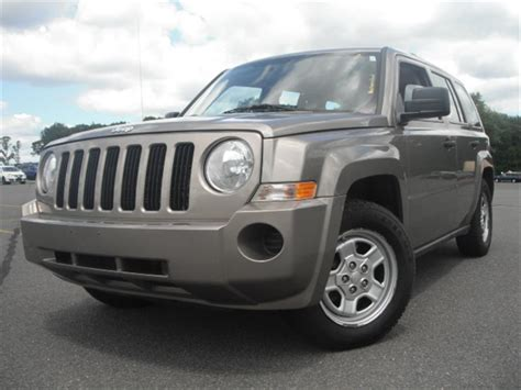 Jeep Patriot For Sale Used Used 2008 Jeep Patriot 4x4 Sport Utility 9 290 00