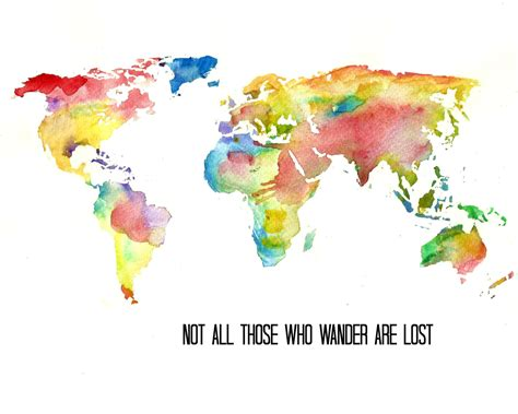 The World In Watercolor by World Map Wallpaper In Watercolor Besttabletfor Me