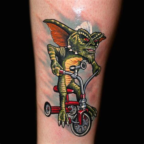 area 51 tattoo stripe gremlins by chris 51 of area 51