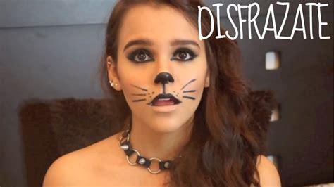 imagenes mujeres pintadas de catrinas maquillaje para halloween gato youtube