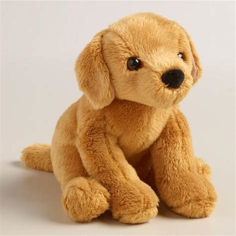 stuffed golden retriever plush stuffed golden retriever world market