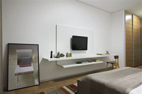 tv mounted on wall in bedroom white wall mount tv ideas bedroom tips for installing