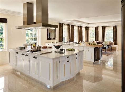 marble kitchen floor 15 delightful kitchen designs with marble flooring for luxurious look