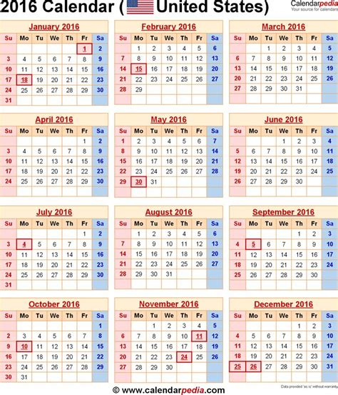 printable calendar 2016 docx 17 best images about holidays calendar on pinterest