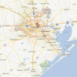 houston mapa maps tour