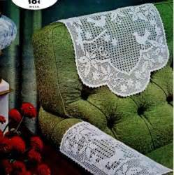Armchair Caddy Pattern Free Patterns Crochett Chair Arm Covers Doilly Easy