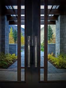 Contemporary entry door hardware by rocky mountain hardware
